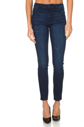 DL1961 | High rise jeans Farrow | Blauw