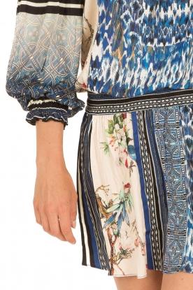 Hale Bob | Off-shoulder jurk Fleur | print