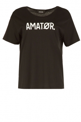 Amatør |  T-shirt Roro Logo | black