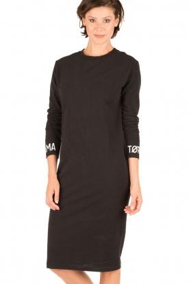 Amatør | Sweaterjurk Bash | zwart
