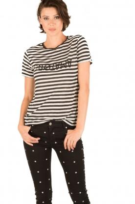 Amatør | T-shirt Shaker | zwart/wit