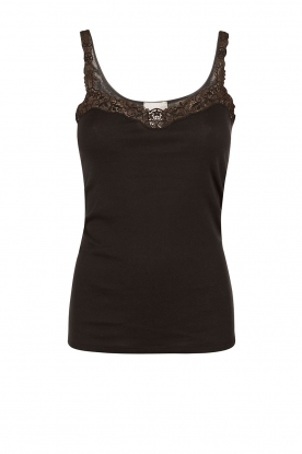 Hanro | Top Delicate | black