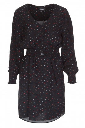 Amatør |  Dress with star print Sixx | black