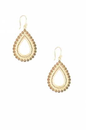 Close to Zen |  22ct plated earrings Sunflower Small | gold