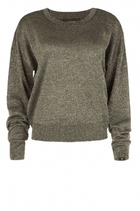 Amatør |  Metallic sweater Maistro | zilver