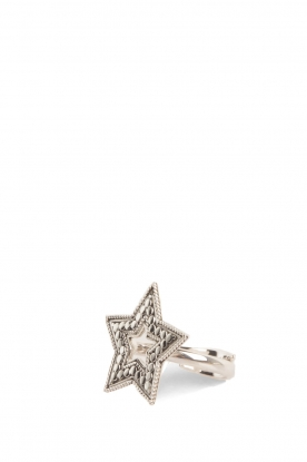 Close to Zen | 925 sterling zilveren ring Star Dust | zilver