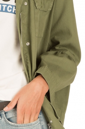 Set | Flair spijkerjas  Bobby | groen