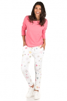 Juvia | Sweatpants Stars | wit