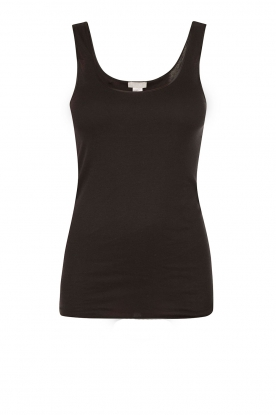 Hanro |  Tanktop Seamless Cotton | black