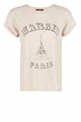 Set | T-shirt Marals Paris | grijs