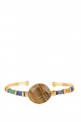 Gas Bijoux |  Plated bracelet Serti Bangle | gold