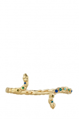 Vergulden armband Bliane  goud