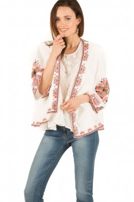 Star Mela | Kimono Felka | wit