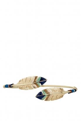 Gas Bijoux | Vergulden armband Bduality | goud