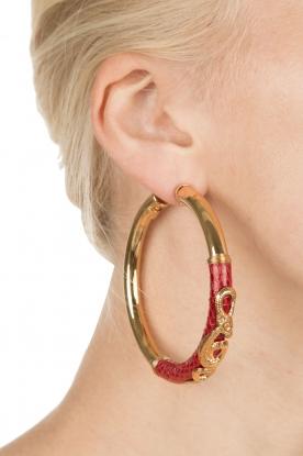Gas Bijoux | Vergulde oorbellen Acreole | goud