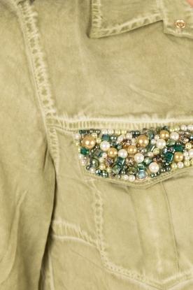 Dishe Jeans | Blousejurk Liza | groen