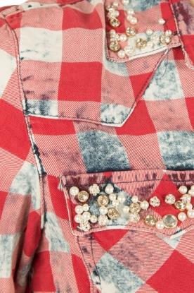 Dishe Jeans | Blousejurk megan | rood