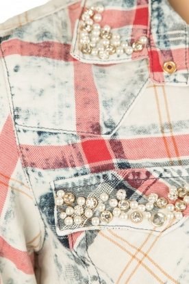 Dishe Jeans | Blousejurk megan | blauw