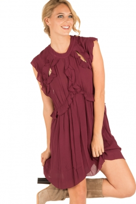 IRO |  Dress Aya | bordeaux