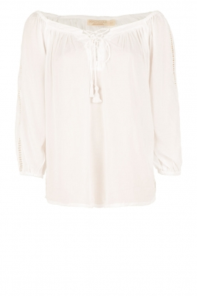 BEACHGOLD |  Tunic blouse Maisey | white