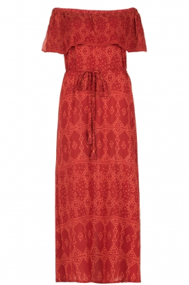 BEACHGOLD |  Maxi dress Pari | red