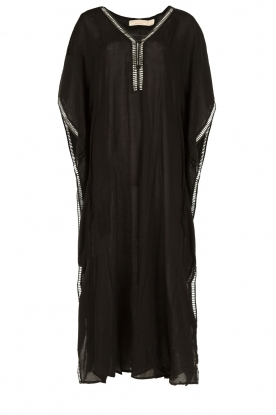 BEACHGOLD |  Kaftan Rico | black