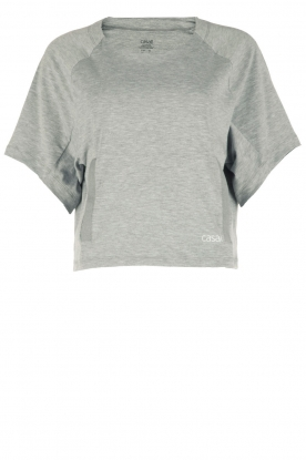 Casall |  Cropped sports top Sem | grey