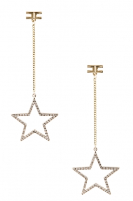 ELISABETTA FRANCHI | Oorbel Falling Star | goud