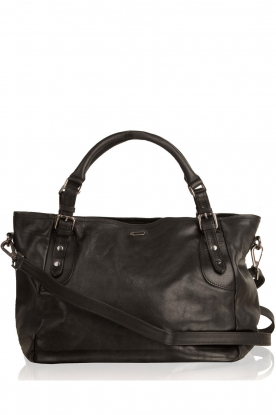 IKKS |  Leather bag Mairena | black