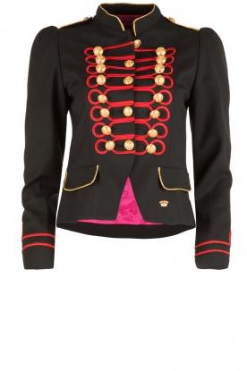 La Condesa | Blazer Beatle | blauw/rood