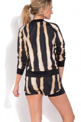 Deblon Sports | Sportvest zebra | zwart/goud