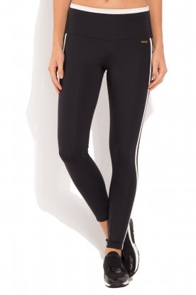 Deblon Sports | Sportlegging Kate | zwart/wit