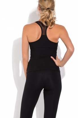 Deblon Sports | Sporttop Jazz | zwart