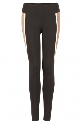 Deblon Sports | Sportlegging Vix | zwart/goud