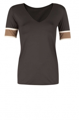 Deblon Sports | T-shirt Kate | zwart/goud