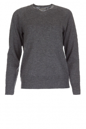 Hunkydory |  Woollen sweater Earl | grey