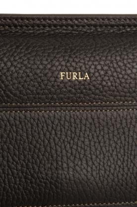 Furla | Leren schoudertas Furla Like | zwart