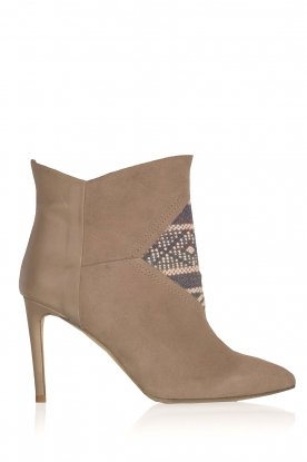 Howsty |  Leather ankle boots Etnia | grey