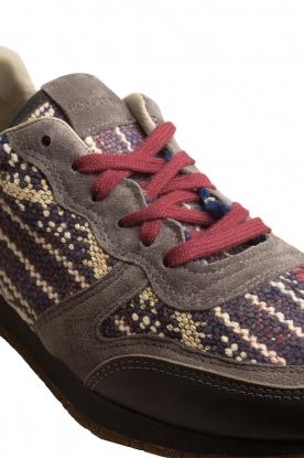 Howsty | Leren sneakers Naaz | grijs