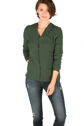 Knit-ted | Blouse billy | groen