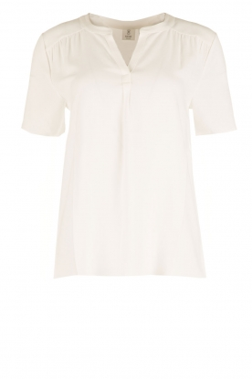 Knit-ted |  Blouse Minne | white