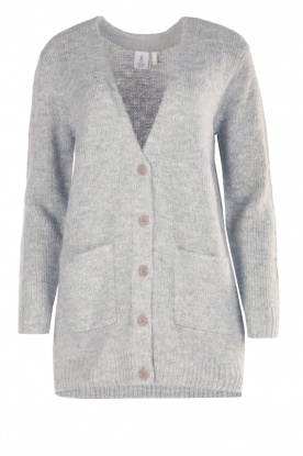 Knit-ted |  Cardigan Bodil | grey