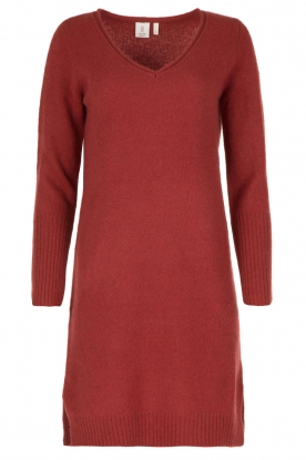 Knit-ted |  Dress Bente | red