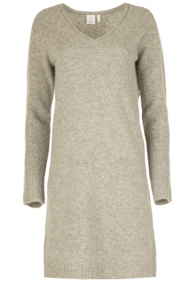 Knit-ted |  Dress Bente | grey
