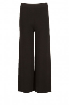 Knit-ted |  Flared pants Baafje | black