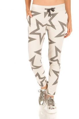 Juvia | Sweatpants Stars Yentl | wit