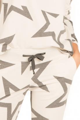 Juvia | Sweatshirt Yentl Stars | wit
