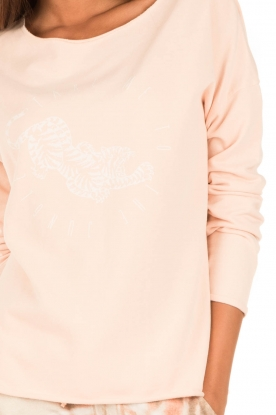 Juvia | Sweater Jungle | roze