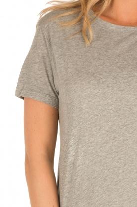 American Vintage | T-shirt Sand Sky | grijs
