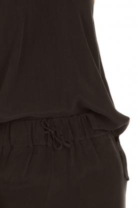 American Vintage | Mouwloze top Azawood | zwart